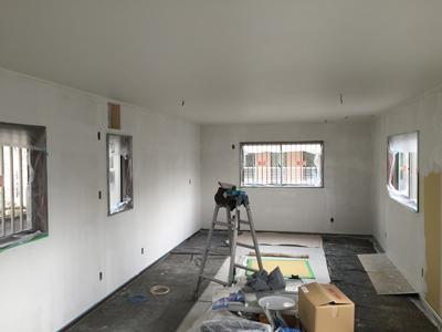 施工後の室内