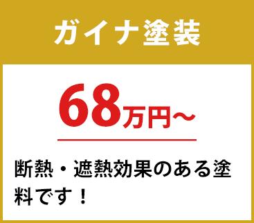 フッ素塗料 30坪 95.1万円