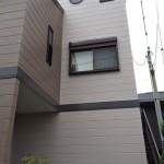 ブラウンでまとめた多色塗りの外壁 加古川市A様邸