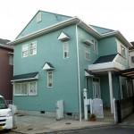 外壁塗装、スーパームキコートでグリーンのお家 高砂市M様邸
