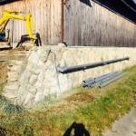 2階の間仕切り壁立ち上げ・浄化槽設置 加古川市N様邸(増築部の改修・水廻りリフォーム)