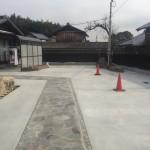 植栽や石を生かした和のお庭 加古川市K様邸(新築したお家の外構工事)