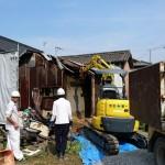 下水切り替えと家屋解体 加古川市N様邸(増築・水廻りリフォーム)