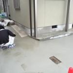 ガレージのコンクリート舗装、刷毛引き仕上げ! 高砂市T様邸(キッチン・お風呂・洗面・内装・エクステリア・増築リフォーム)