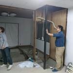 着工、居間とキッチンの床解体 高砂市Y様邸(LDKリノベーション)