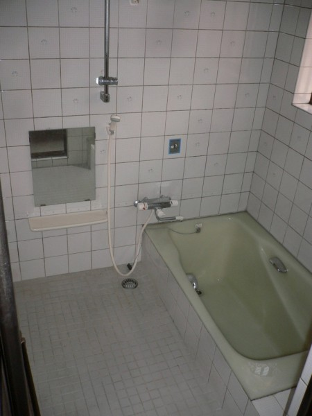 リフォーム前のお風呂