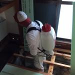 窓を収納に・防蟻剤の施工 高砂市U様邸(1階全面リフォーム)
