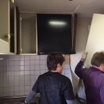 キッチンの解体 明石市S様邸(マンションの全面リフォーム)