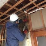 キッチン・リビングと応接間の間仕切り壁解体 明石市N様邸(全面リフォーム)