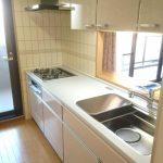 3層構造のシンクが付いたシステムキッチン 姫路市Y様邸(マンションの内装・キッチンリフォーム)