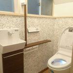 広く使えるようになった洗面所・トイレのビフォーアフター 高砂市I様邸(水まわりリフォーム)