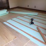 リビングの床を下地からやり替えて、ボワボワ解消 加古川市K様邸(内装リフォーム)
