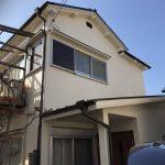 外壁塗装完了♬クリーム色のお家 高砂市I様邸(増築+水まわりリフォーム)