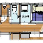 お風呂と脱衣所の配置を変えて、足を伸ばせる1坪サイズのシステムバスを設置 加古川市M様邸(水まわり・内装リフォーム)