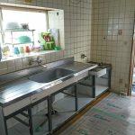 簡単取り替えホーローシステムキッチン 高砂市M様邸(内装リフォーム・給湯器交換)