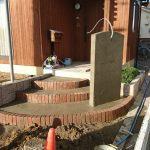 コンクリート舗装して、花壇やバイク小屋の基礎を設けました! 加古川市Y様邸(外構リフォーム)