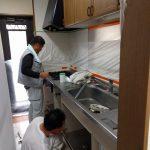 システムキッチンの天板(カウンター)交換 加古郡O様邸(キッチン・お風呂・トイレリフォーム)