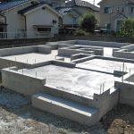 柱状改良工法による地盤改良・基礎工事・土台敷き 高砂市M様邸(新築工事)