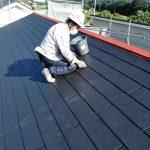 カラーベスト屋根の塗装、縁切り 加古川市S様邸(屋根・外壁塗装)