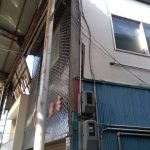 モルタル外壁の剥がれ・ひび割れ補修、1面のみ外壁塗装 加古川市F様邸(外壁リフォーム)
