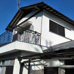 屋根瓦の一部葺き替え、外壁塗装、ベランダのウレタン防水工事(通気緩衝工法) 加古川市A様邸(外装リフォーム)