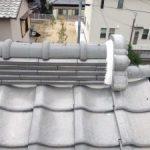 屋根の漆喰補修・棟瓦葺き替え 高砂市H様邸(屋根工事)