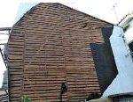 台風で剥がれた外壁の補修、モルタルからプリント鋼板仕上げに 高砂市M様邸(外壁リフォーム)
