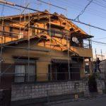 足場の組み立て 高砂市T様邸(外壁塗装)