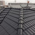 外壁中塗り、セメント瓦の屋根After 高砂市U様邸(1階全面リフォーム)