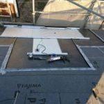 ルーフィング、パネル架台の取り付け 高砂市H様邸(太陽光発電設置・屋根葺き替え・外壁塗装)
