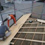屋根の下地づくり 小野市T様邸(外壁塗装・屋根葺き替え)