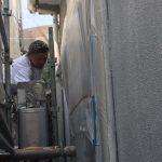 足場の組み立てから下塗りまで 加古川市H様邸(カラーベスト屋根・外壁塗装)
