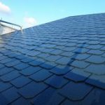 屋根とテラス塗装After 明石市K様邸(屋根・外壁塗装)