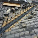 大屋根の谷銅板・漆喰やり替え 加古川市O様邸(屋根工事)