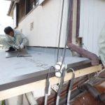 雨漏りしていた小屋根の補修 高砂市U様邸(雨漏り修理)