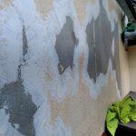 塗膜剥離が起きていたモルタルの外壁補修と塗装 加古川市M様邸(外壁塗装)