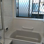 ホーロー製でお掃除かんたん!タカラのシステムバス・洗面化粧台に取り替え 加古郡F様邸(浴室・洗面所リフォーム)
