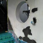 鉄筋コンクリート造、外壁の爆裂補修・塗装 加古川市Y様邸(離れの外壁塗装)