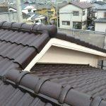 スラリー層を丁寧に除去してから「マイティシリコン」でセメント瓦屋根を塗装 高砂市O様邸(屋根・外壁塗装)