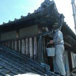 台風の被害に遭った屋根瓦・外壁漆喰の補修 高砂市S様邸(築41年、屋根漆喰工事)