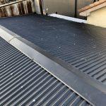 雨漏りしていたブロック造の外壁塗装、アスベスト含有スレート屋根をガルバリウム鋼板に葺き替え 加古川市T様(貸店舗の外壁塗装・屋根葺き替え)