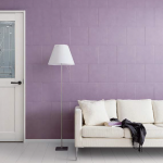 新色《ピンクアッシュ》《グレーアッシュ》のドアで大人可愛いインテリア (加古川市・高砂市で内装リフォームならウオハシ)