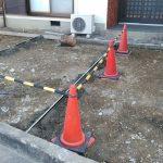 ブロック塀を撤去して、車2台分の広い駐車場に作り変え 高砂市N様邸(外構リフォーム)