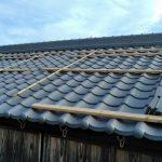 【空き家の全面改装】土葺きの瓦屋根を下地からやり替えて、三州のいぶし瓦に葺き替え 加古川市T様邸(築50年、屋根リフォーム)