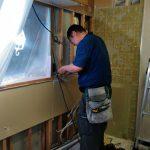 吊戸棚は残して、キッチンの調理台のみ交換 加古川市K様邸(築23年マンション、キッチンリフォーム)