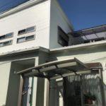金属屋根を遮熱塗料「ガイナ」で塗装して暑さ軽減 加古川市I様邸(築10年、外壁・屋根塗装)