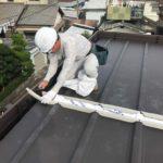 【ガルバリウム鋼板の屋根】重ね葺き(カバー工法)で防水面も安心 加古川市K様邸(築45年)