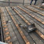 過去に重ね葺き(セキスイ瓦U+カラーベスト)された屋根を葺き替え 加古川市I様邸