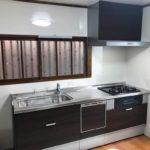 掃除しやすいシステムキッチンに取り替え・床張り替え 加古川市I様邸