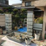 古く重たい門扉をアルミ形材のものに取り替え 加古川市M様邸(外構リフォーム)